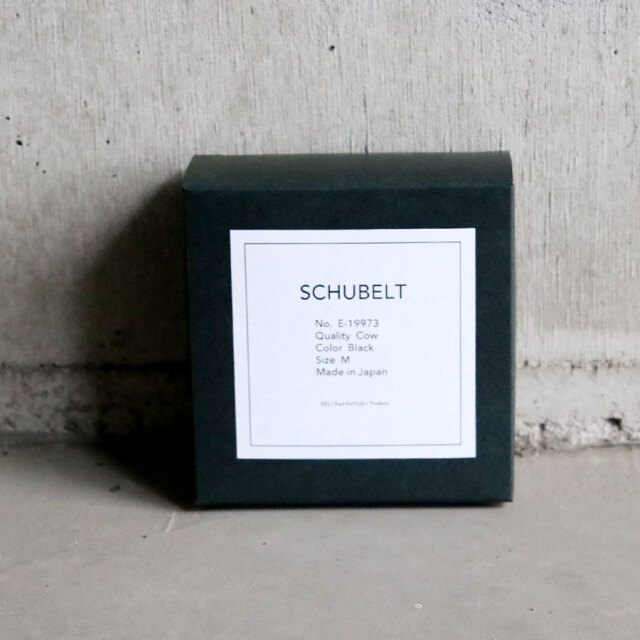 EEL,イール,イールプロダクツ,eel products,SCHUBELT,レザーベルト,シューベルト