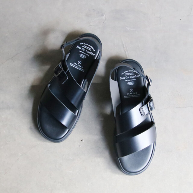 FOOT THE COACHER,フットザコーチャー,SS BELT SANDALS