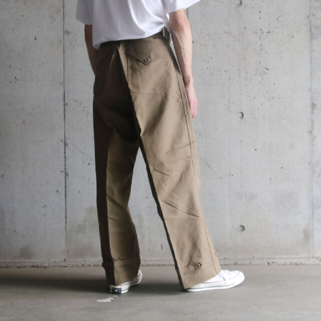 DEAD STOCK,MILITARY,イタリア軍,オーバーパンツ,over pants,DEADSTOCK 50S VINTAGE ITALY OVER PANTS