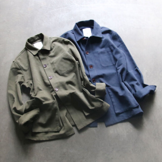 PERSONAL EFFECTS,パーソナル エフェクツ,イギリス,MADE IN ENGLAND,BRISBEN MOSS,core collection overshirt