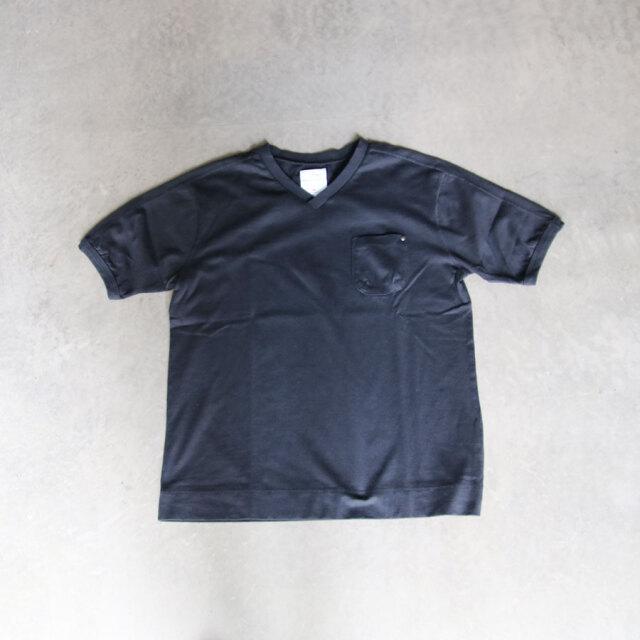 re made in tokyo japan,アールイー,アールイーメイドイントウキョウジャパン,SPLIT RAGLAN POCKET V-NECK T-SHIRT,7720s-ct