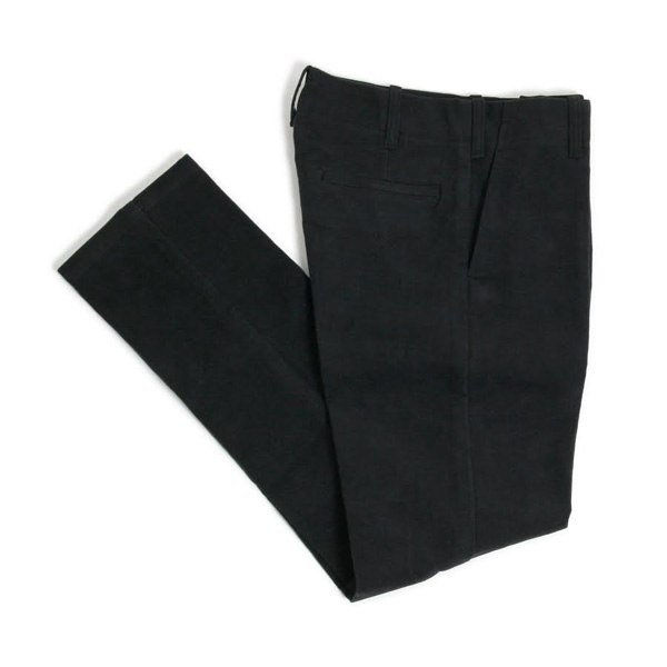 TUKI,TROUSERS,COTTON MELTON