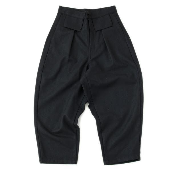 TUKI,WOOL TAPARED PANTS