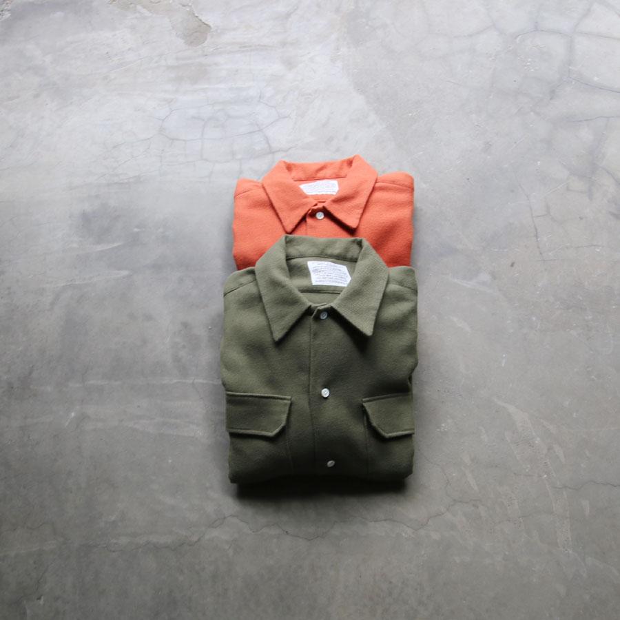 SUNNY ELEMENT (サニーエレメント) [COAST SHIRT] コットンフランネル オープンカラーシャツ (2COLOR) / オリジナリティー溢れる素材と縫製によるシャツジャケット感覚で羽織れるシャツ