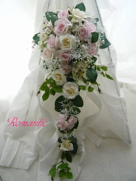 ブーケ アーティフィシャルフラワー 高級造花 10000円【bu0001】【ROMANTIC】【ロマンティック】