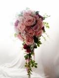 ブーケ  高級造花 アーティフィシャルフラワー 高級造花ブーケ ROMANTIC 【bu2】【ROMANTIC】【ロマンティック】
