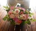 高級造花アレンジ 母 誕生日プレゼント 造花通販 アーティフィシャルフラワー【ar111】【ROMANTIC】【ロマンティック】