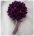 成人式振袖 髪飾り 紫マム タッセル パール 成人式ヘアスタイル【ka14】【ROMANTIC】【ロマンティック】