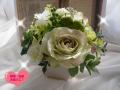 高級造花アレンジ 姫りんご 結婚出産祝い プレゼント【ar02】【ROMANTIC】【ロマンティック】
