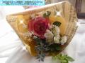 花束  高級造花 贈呈用 発表会用 可愛いラッピング【ha02】【ROMANTIC】【ロマンティック】