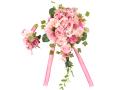 オープン記念大特価 高級造花ウエディングブーケセット ブーケBOX付き 光触媒加工含む【rm0001】【ROMANTIC】【ロマンティック】