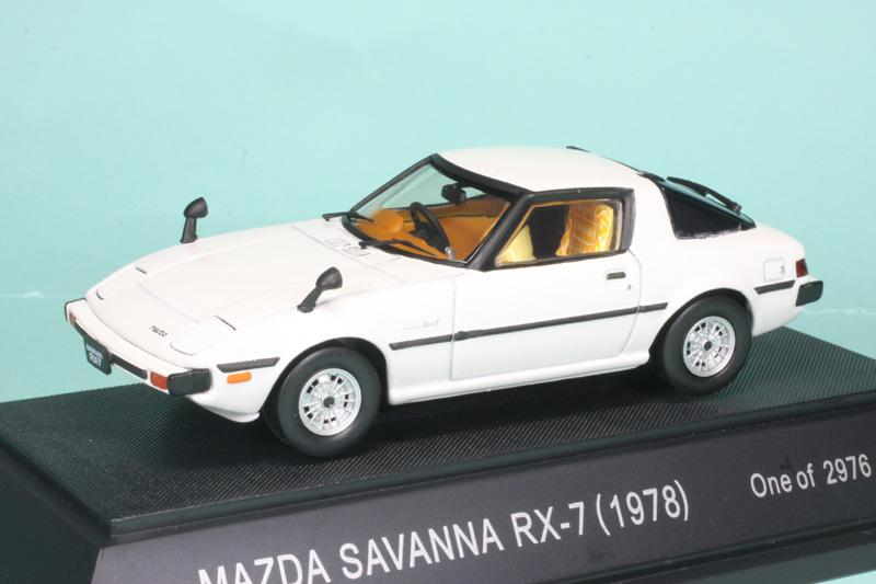 エブロ 1/43 マツダ サバンナ RX-7 1978 ホワイト 43150