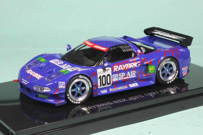 エブロ 1/43 レイブリック NSX JGTC 1997 デビュー No.100 44271