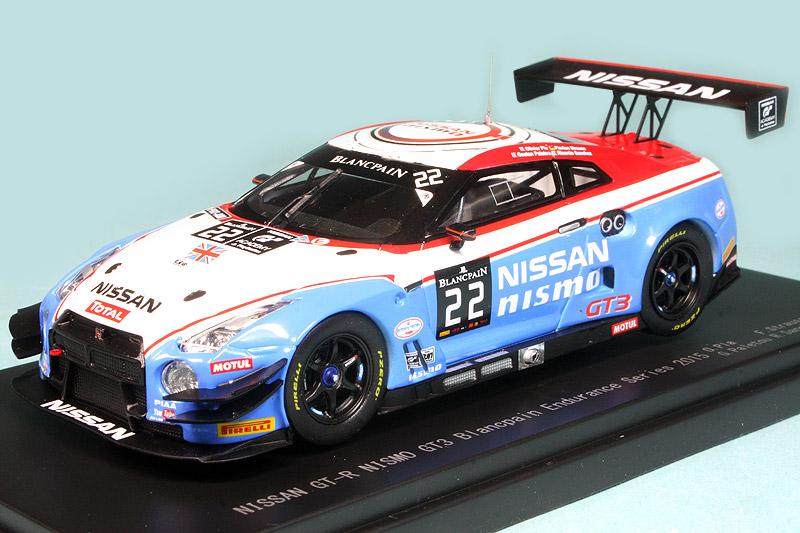 Ebbro 45482 NISSAN GT-R NISMO GT3 Blancpain Endurance 2015 No.22 1//43 scale