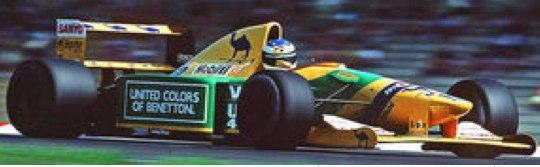 ミニチャンプス 1/18 ベネトン フォード B192 ドイツGP 1992 3rd M.シューマッハ 110920099