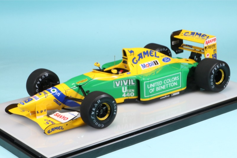 [予約] ロムファクトリー 1/20 ベネトン B192 ベルギーGP 1992 M.シューマッハ 初優勝 RF20036TKD