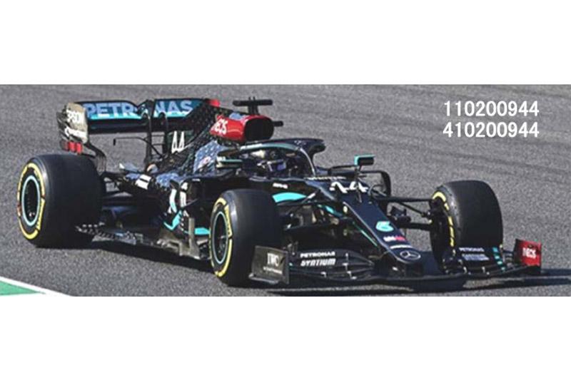 [予約] ミニチャンプス 1/18 メルセデス AMG ペトロナス W11 EQパフォーマンス トスカーナGP 2020 Winner L.ハミルトン 110200944