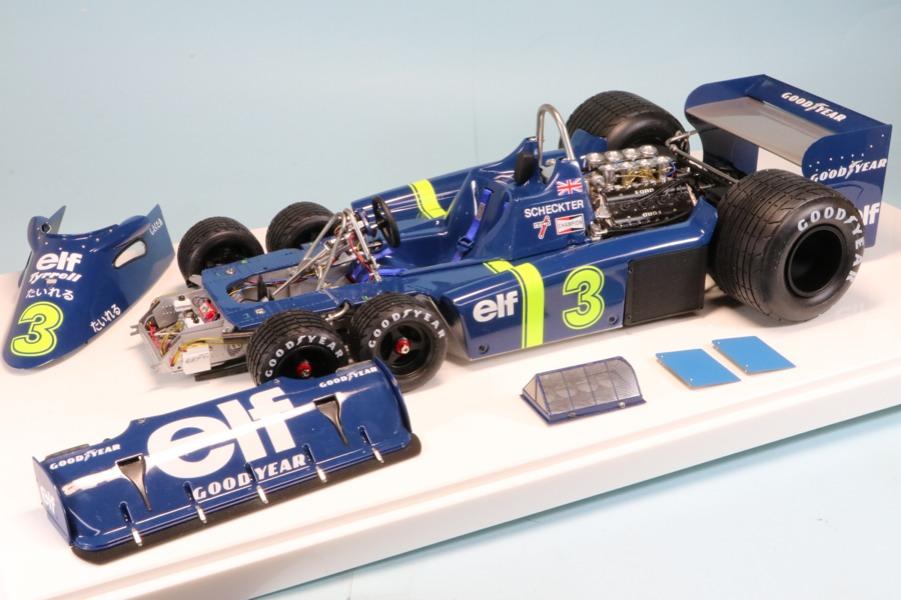ロムファクトリー 1/12 ティレル P34 日本GP 1976 J.シェクター RF12036TO