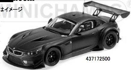 Minichamps 1:43 bmw z4 gt3-Plain body-satén Black