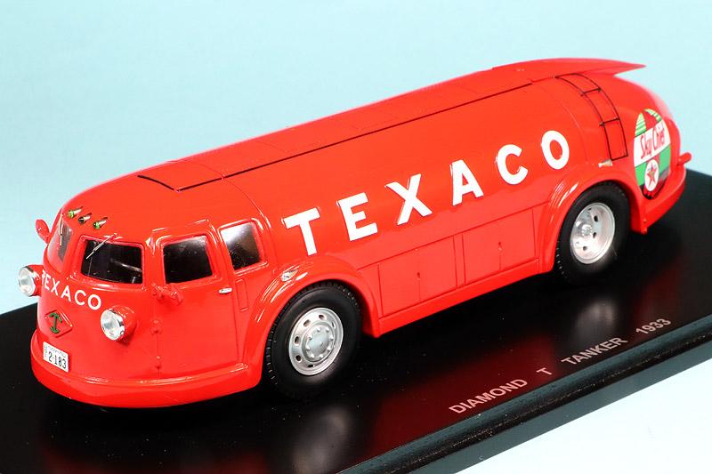 """ビザール 1/43 ダイヤモンド T タンカー 1933 """"TEXACO"""" B1052"""