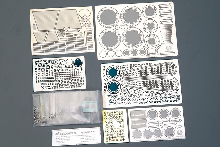ホビーデザイン 1/12 ホンダ CBR 1000RR-R ディティールアップパーツ (タミヤ対応) HD02-0408