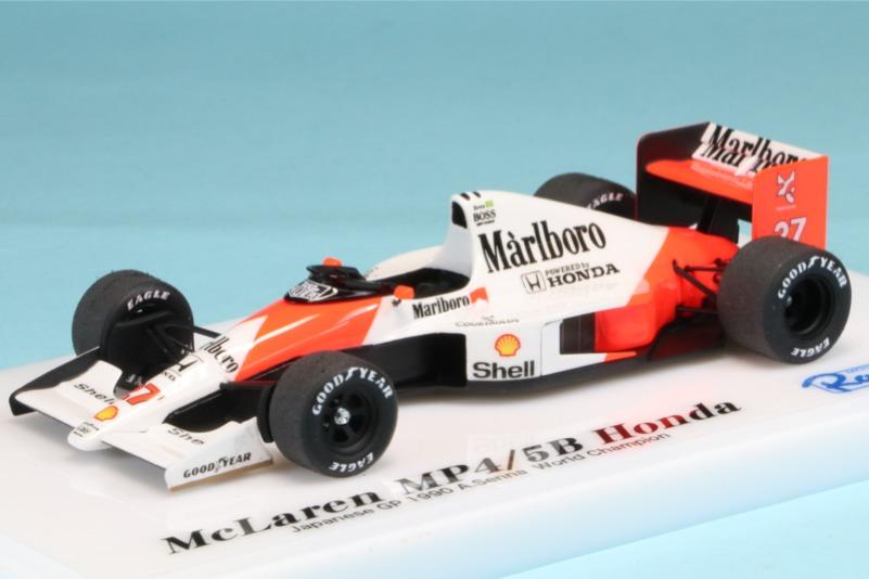 ロムファクトリー 1/43 マクラーレン MP4/5B ホンダ 日本GP 1990 A.セナ ワールドチャンピオン RFSLK016_KC