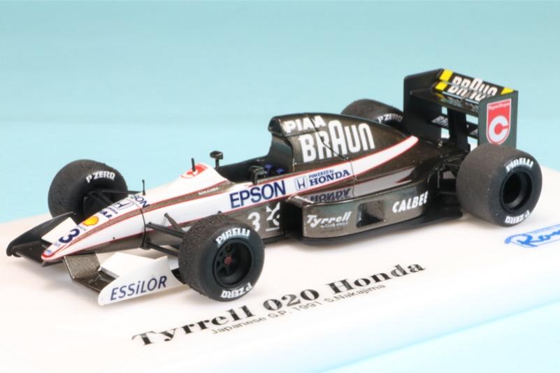ロムファクトリー 1/43 ティレル 020 ホンダ 日本GP 1991 中嶋悟 RFTMK151_KC