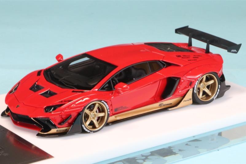 [予約] M.S.(Miniature Specials) 1/43 LB Performance アヴェンタドール 2.0 AZR ミウラオマージュ 限定50台 MS43096