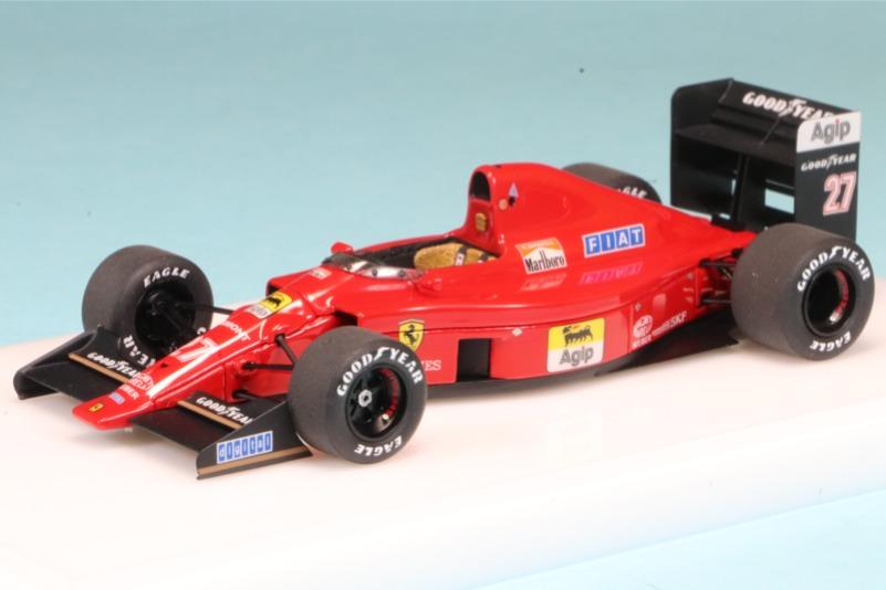 [受注製作見本] 1/43 640 ハンガリー GP 1989 N.マンセル ウィナー FRTMK110TD