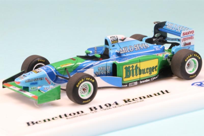 ロムファクトリー 1/43 ベネトン B194 オーストラリアGP 1994 M.シューマッハ RFTMK191_KC