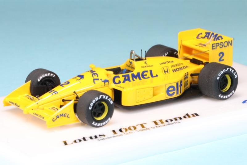 ロムファクトリー 1/43 ロータス 100T 日本GP 1988 中嶋悟 RFTMK082_KC