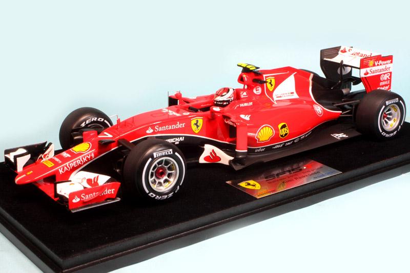 [再入荷] ルックスマート 1/18 フェラーリ SF15-T バーレーンGP 2015 2nd K.ライコネン LS18F102