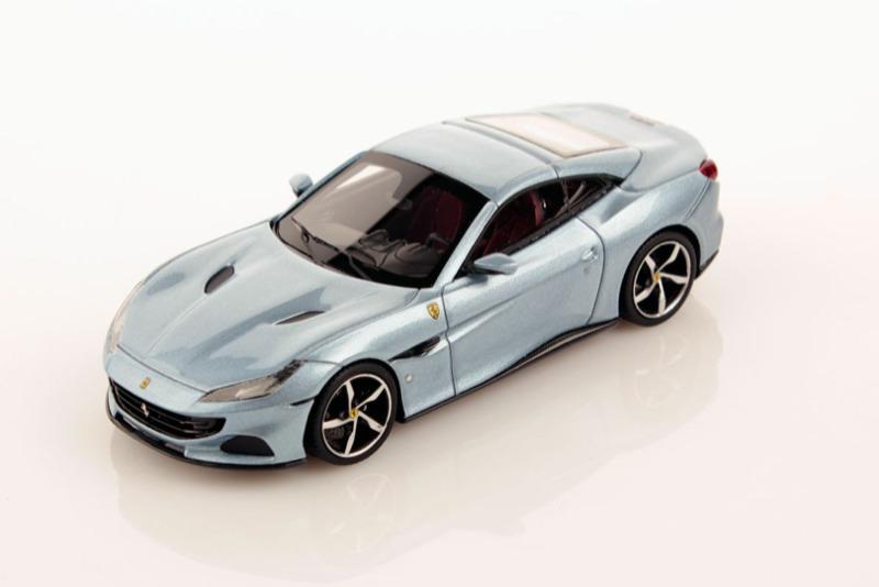 [予約] ルックスマート 1/43 フェラーリ ポルトフィーノ M シルバー LS524A