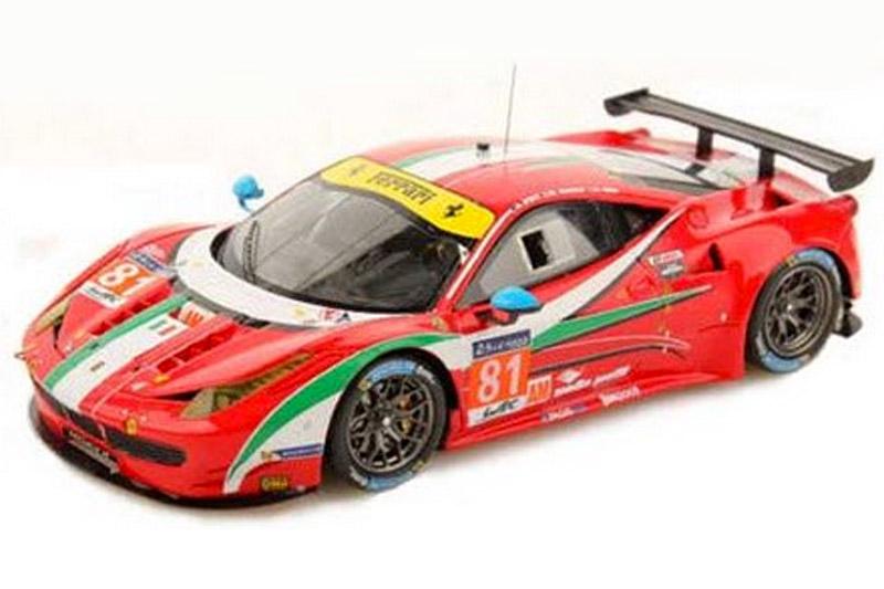 ルックスマート 1/43 フェラーリ 458 GTE ルマン 24h 2014 No.81 LSLM09