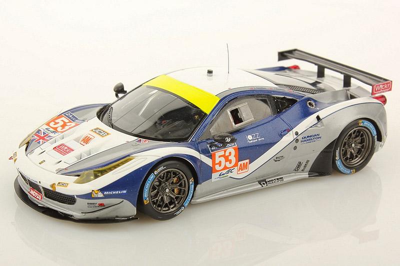 ルックスマート 1/43 フェラーリ 458 GTE ルマン 24h 2014 LM-GTE-Am 12th No.53 LSLM13