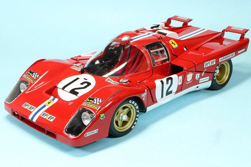 ACME 1/18 フェラーリ 512M ルマン 24h 1971 3rd No.12 M1801002
