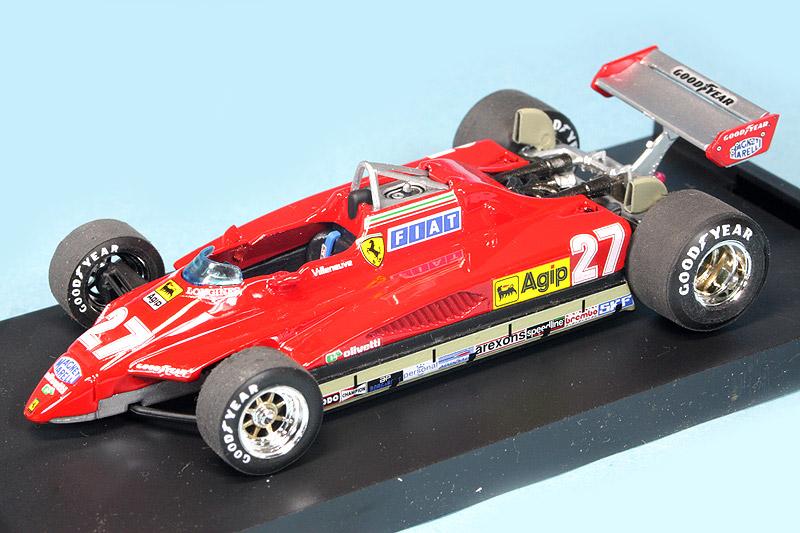 [再入荷] ブルム 1/43 フェラーリ 126C2 ターボ サンマリノGP 1982 G.ビルヌーブ R267