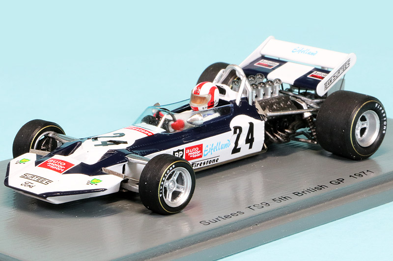 スパーク 1/43 サーティース TS9 イギリスGP 1971 R.シュトメレン S4015