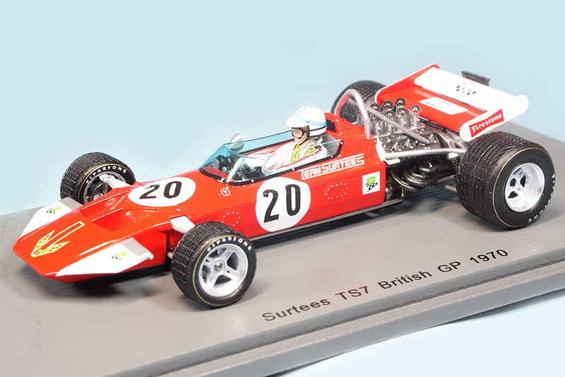スパーク 1/43 サーティース TS7 イギリスGP 1970 J.サーティース S5400