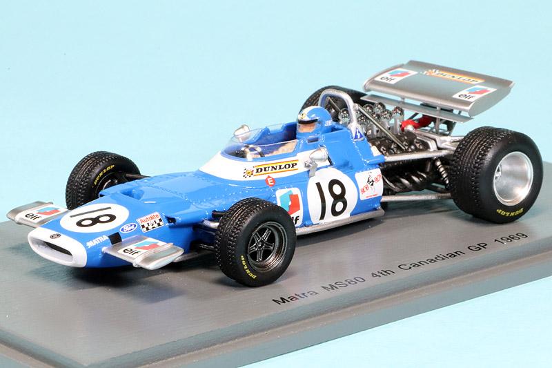 スパーク 1/43 マトラ MS8 カナダGP 1969 J.P.ベルトワーズ S7194