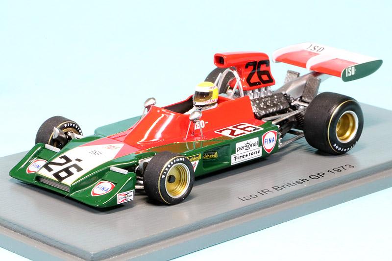 スパーク 1/43 Iso IR イギリスGP 1973 G.マクレー S7572