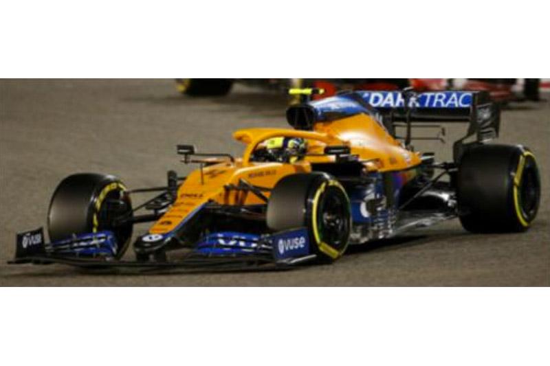 [予約] スパーク 1/18 マクラーレン MCL35M エミリオロマーニャ GP 2021 L.ノリス 3rd 18S585