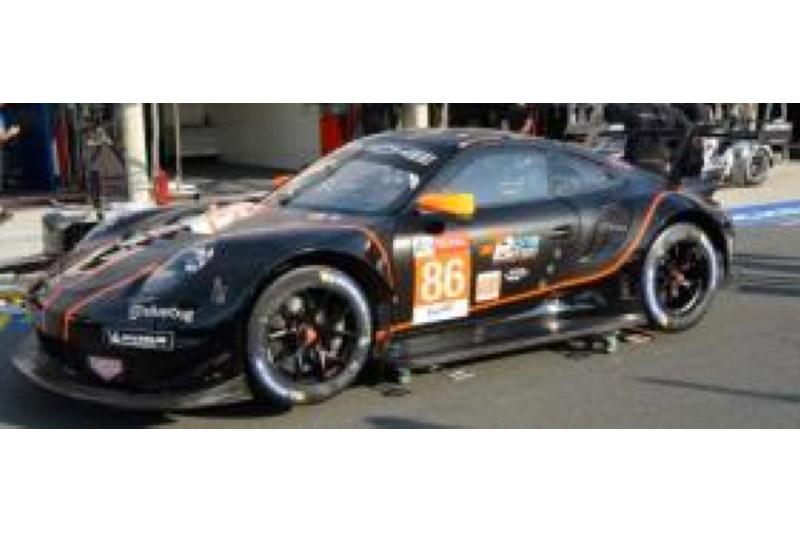 """[予約] スパーク 1/43 ポルシェ 911 RSR """"Gulf"""" ルマン 24h 2020 No.86 S7991"""