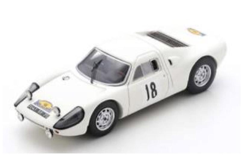 [予約] スパーク 1/43 ポルシェ 904 GTS Rallye des Routes du Nord 1966 No.18 SF166
