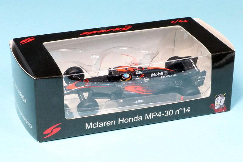 スパーク 1/64 マクラーレン ホンダ MP4/30 F.アロンソ SPK-ES1603