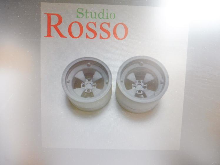 Studio Rosso 1/24 ワークスマグホイール(ゴッティタイプ) 15インチ SRP-016