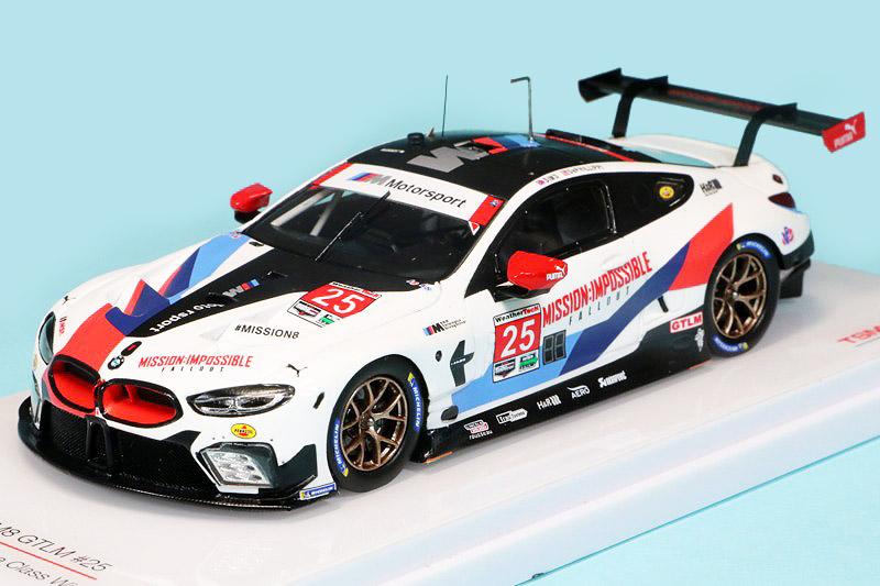トゥルースケール 1/43 BMW M8 GTLM IMSA ミシュラン GT チャレンジ 2018 クラスWinner No.25 TSM430442