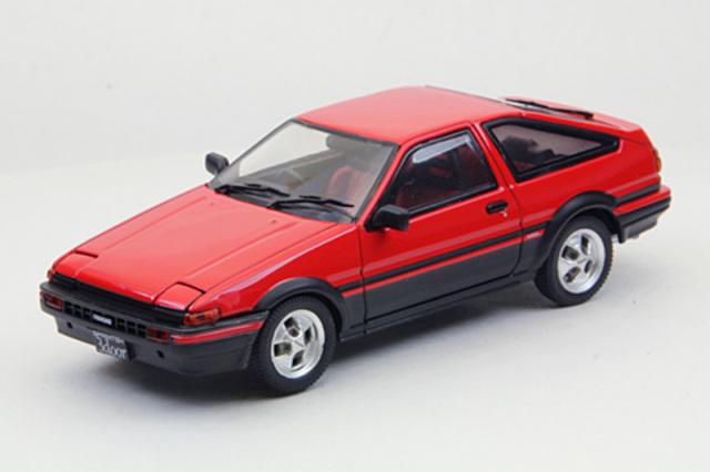 エブロ 1/43 トヨタ スプリンター トレノ AE86 1983 レッド 43819
