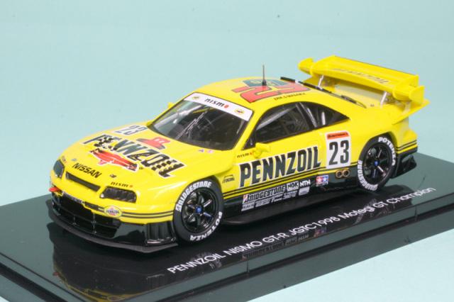 エブロ 1/43 ペンズオイル スカイライン GT-R R33 JGTC 1998 No.23 ハイダウンフォース仕様 44251