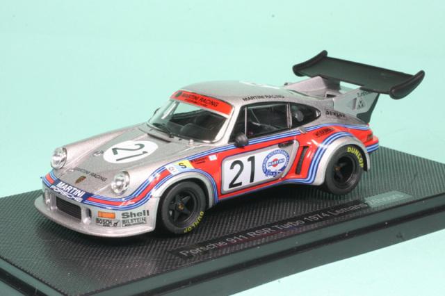 エブロ 1/43 ポルシェ 911 RSR ターボ ルマン 1974 No.21 44307